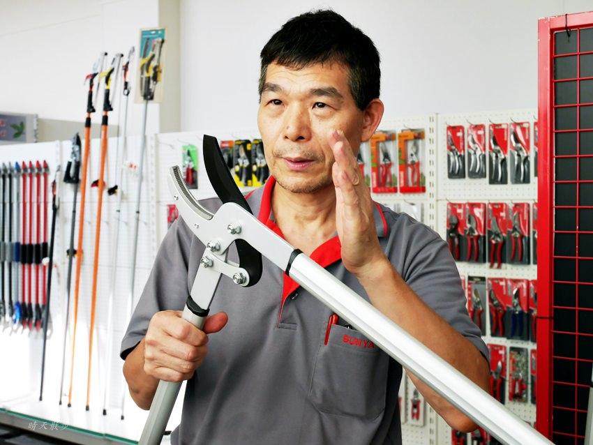 20171006002453 13 - 熱血採訪|維勝特企業Sunya~台灣之光打造台灣精品 長銷各國的優質園藝工具 輕巧省力好用的專利花剪、修枝剪