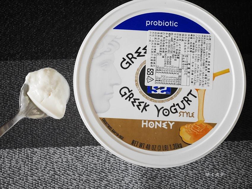 Costco必買好物 Greek Gods希臘式優格蜂蜜口味~1.36公斤 綿密可口但熱量不低啊
