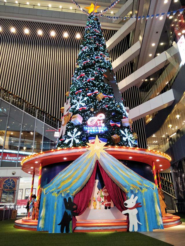20171215101902 3 - 大魯閣新時代購物中心|2017麗莎和卡斯柏聖誕派對 最受歡迎的法國經典繪本角色 全台最高室內聖誕樹