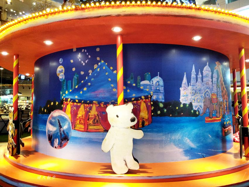 20171215101911 37 - 大魯閣新時代購物中心|2017麗莎和卡斯柏聖誕派對 最受歡迎的法國經典繪本角色 全台最高室內聖誕樹