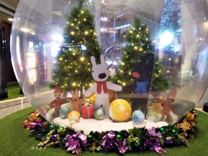 20171215101920 69 - 大魯閣新時代購物中心|2017麗莎和卡斯柏聖誕派對 最受歡迎的法國經典繪本角色 全台最高室內聖誕樹