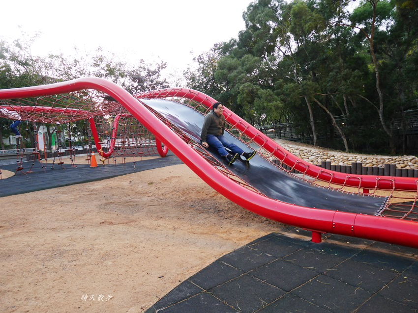 20180116002045 12 - 台中一日遊|清水鰲峰山公園~好好玩的競合遊戲體驗場 跑酷競技親子同樂