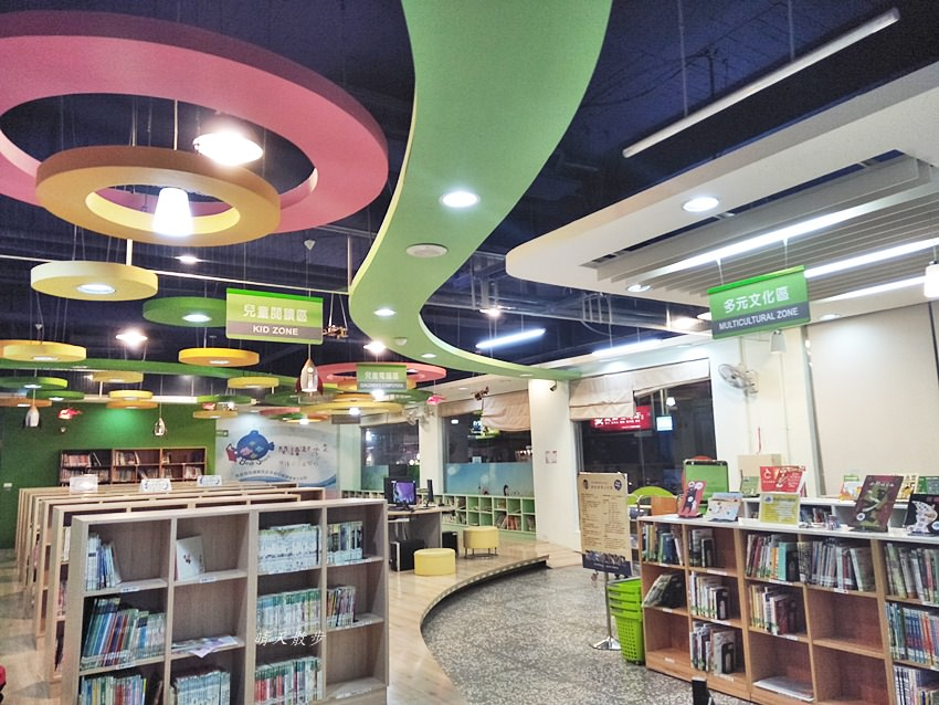 20180319210707 31 - 台中西區圖書館~從繪本、童書看到漫畫 精誠路上的圖書館好鄰居 借書集點送獎品