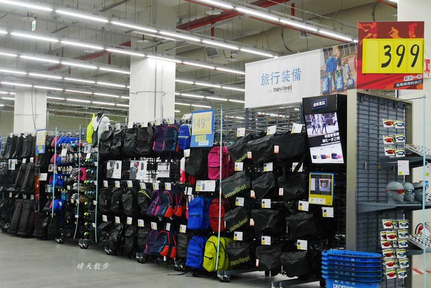 20180507094726 23 - 迪卡儂南屯店~不是運動咖也愛逛的大型運動用品店 假日千萬不要去!