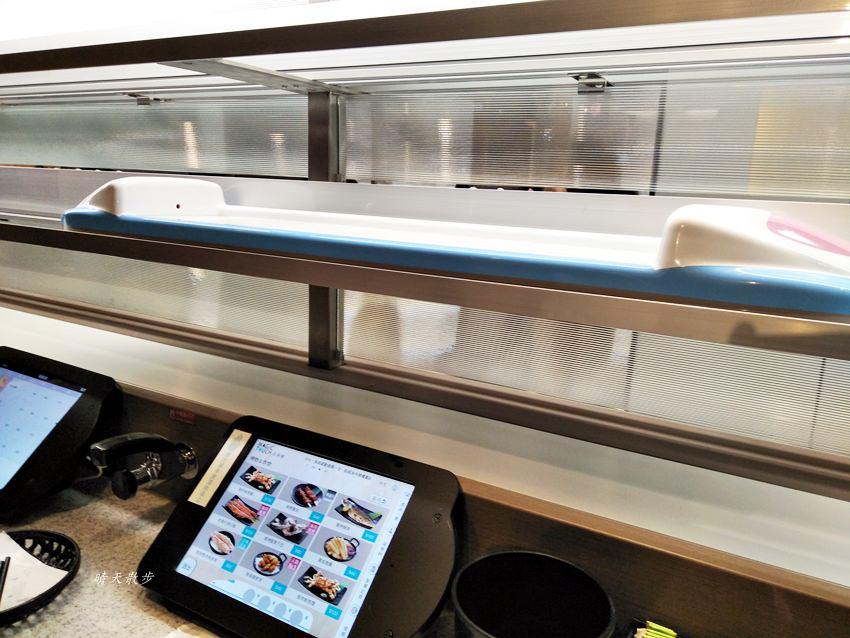 20180602153557 33 - 点爭鮮勤美店|迴轉壽司觸控式點餐 新幹線火車送餐挺有趣
