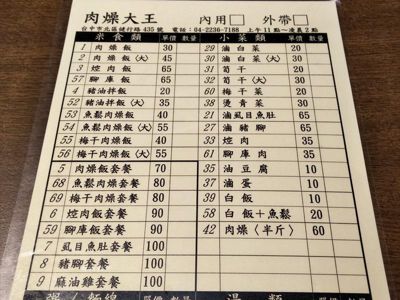 20180616134637 99 - 台中宵夜|肉燥大王~近中國附醫 平價傳統小吃深夜食堂