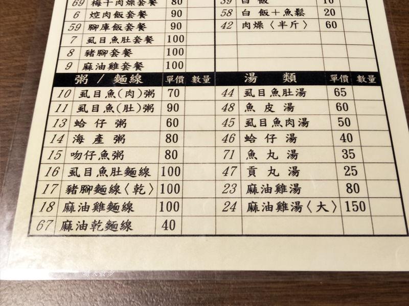20180616134642 86 - 台中宵夜|肉燥大王~近中國附醫 平價傳統小吃深夜食堂