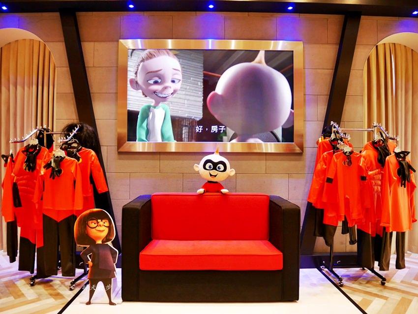 20180802143421 8 - 熱血採訪|台中秀泰影城~迪士尼皮克斯動畫廳 看迪士尼電影的首選 超人特攻隊2 好拍好玩好好看!