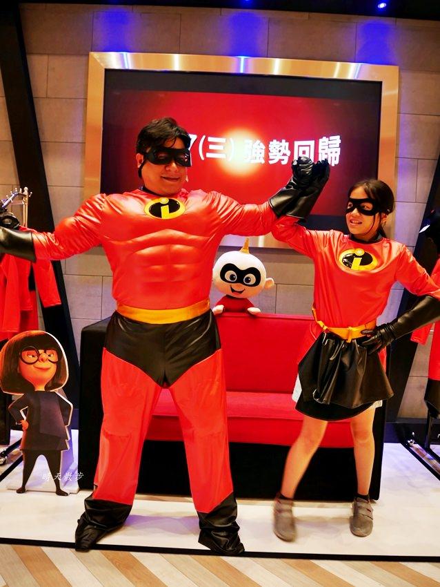 20180802143519 83 - 熱血採訪|台中秀泰影城~迪士尼皮克斯動畫廳 看迪士尼電影的首選 超人特攻隊2 好拍好玩好好看!
