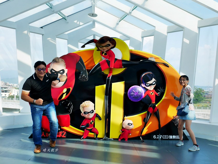20180802143623 61 - 熱血採訪|台中秀泰影城~迪士尼皮克斯動畫廳 看迪士尼電影的首選 超人特攻隊2 好拍好玩好好看!