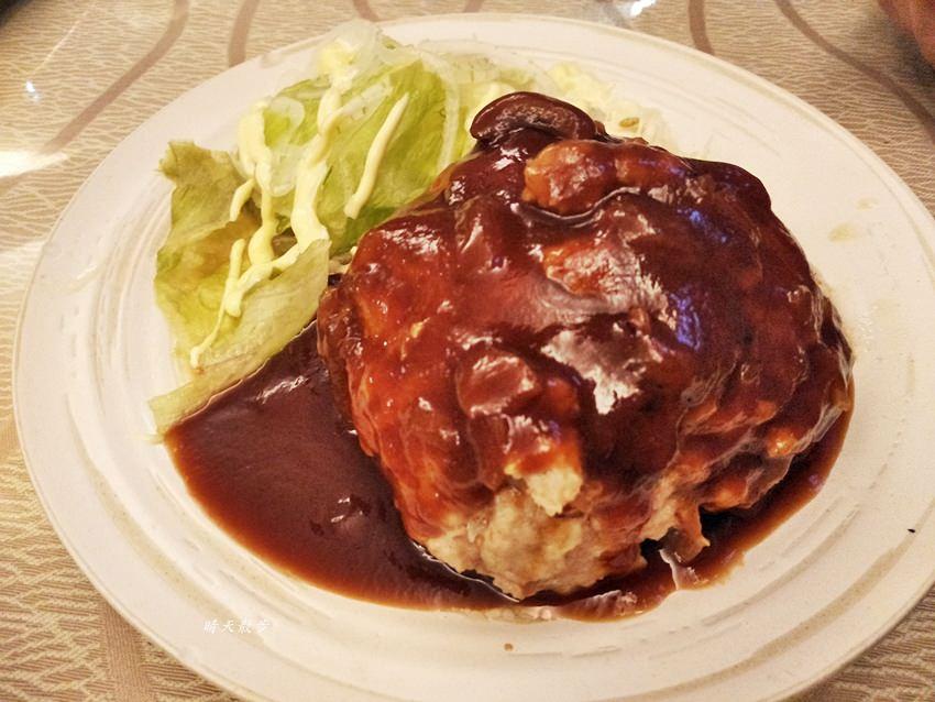 20180804110700 41 - 台中日式|安西媽媽的家庭料理~華美街日式餐廳 日本家常味  豐潤多汁漢堡排