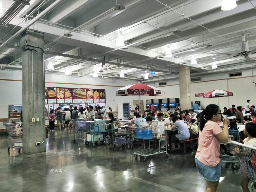 20181003213110 5 - 台中Costco必買好物|凱薩雞肉沙拉,好市多一樓美食區,免會員卡也可買