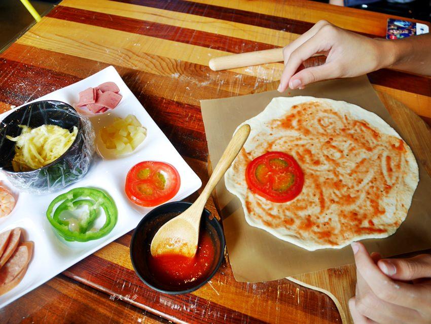 20181120161451 99 - 熱血採訪|那間披薩La Pizza~假日親子披薩DIY體驗 近中興大學 自己做的披薩最好吃!(台中披薩吃到飽餐廳)