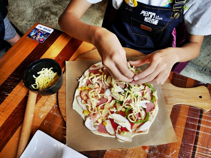 20181120161510 24 - 熱血採訪|那間披薩La Pizza~假日親子披薩DIY體驗 近中興大學 自己做的披薩最好吃!(台中披薩吃到飽餐廳)