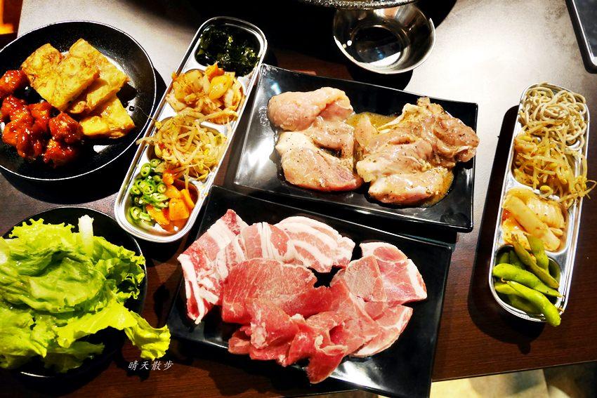 20190917115955 97 - 台中吃到飽|豬對有韓式烤肉吃到飽台中精武店~平價又豐富的韓式火烤兩吃 平日午餐吃到飽299元!