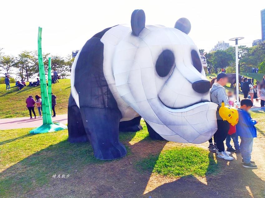 20200207003950 4 - 台中燈會|2020台灣燈會在台中,走逛文心森林公園戽斗星球童趣樂園,白天超吸睛好好拍
