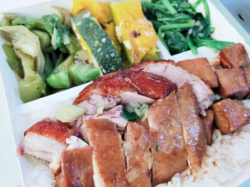 20200218162632 85 - 西區便當|香港鑫記燒肉快餐~各式燒臘、烤鴨便當好好吃,便當附湯一碗,配合UberEats外送