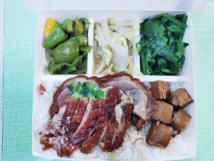 20200218162635 39 - 西區便當|香港鑫記燒肉快餐~各式燒臘、烤鴨便當好好吃,便當附湯一碗,配合UberEats外送