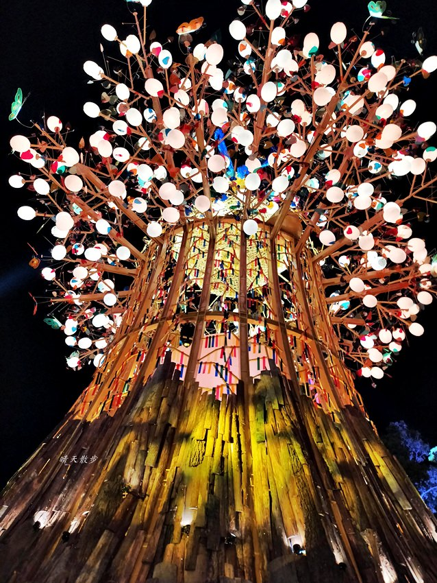 20200220163507 6 - 2020台灣燈會在台中~搭火車去后里逛台中燈會,森林園區好精彩,光之樹、聆聽花開永晝心、無人機秀、森林機械巨蟲秀!