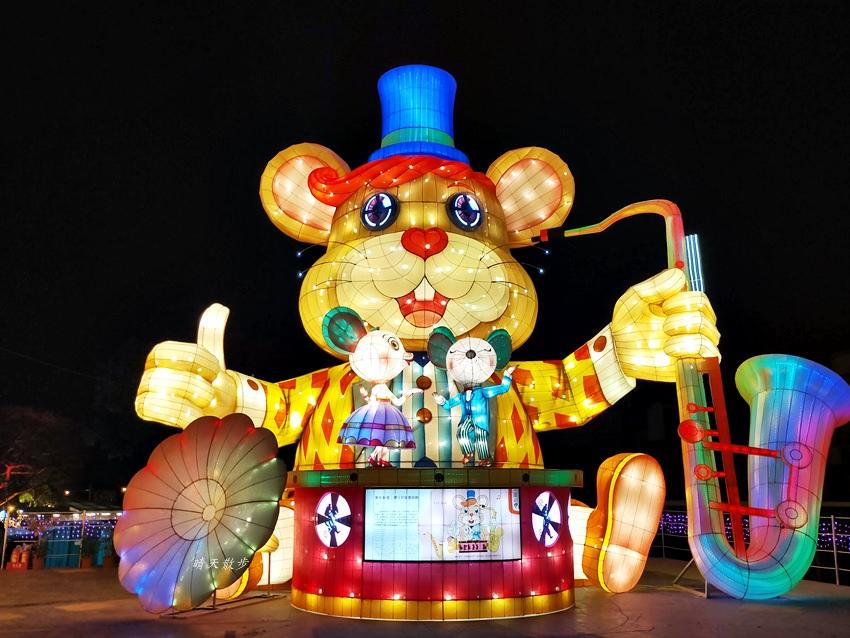 20200220163523 67 - 2020台灣燈會在台中~搭火車去后里逛台中燈會,森林園區好精彩,光之樹、聆聽花開永晝心、無人機秀、森林機械巨蟲秀!