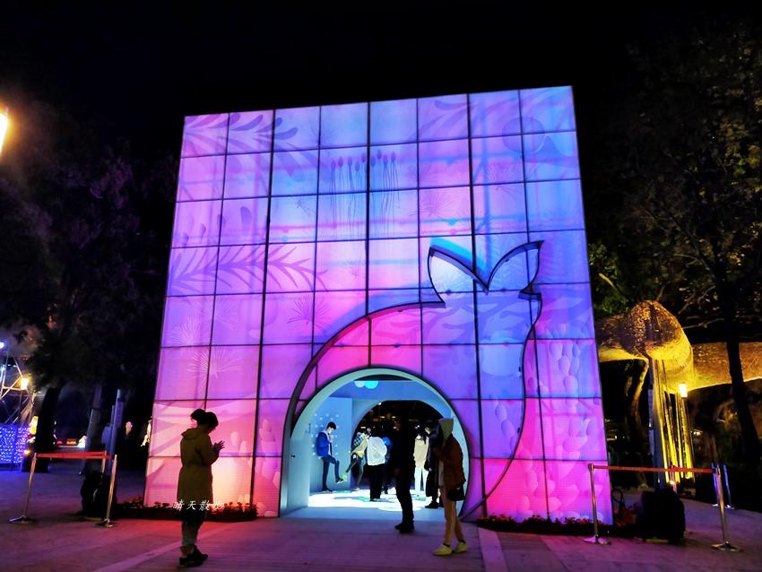 20200220163602 30 - 2020台灣燈會在台中~搭火車去后里逛台中燈會,森林園區好精彩,光之樹、聆聽花開永晝心、無人機秀、森林機械巨蟲秀!