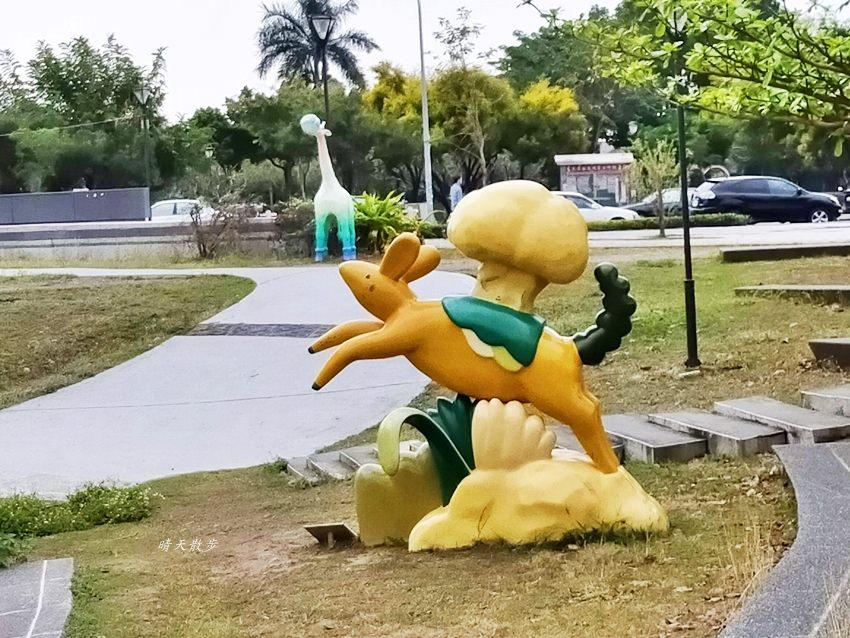 20200314003259 9 - 大里東湖公園│大里Dali Art 文創藝術廣場旁公園,大型裝置藝術作品,讓平凡公園變得超可愛!