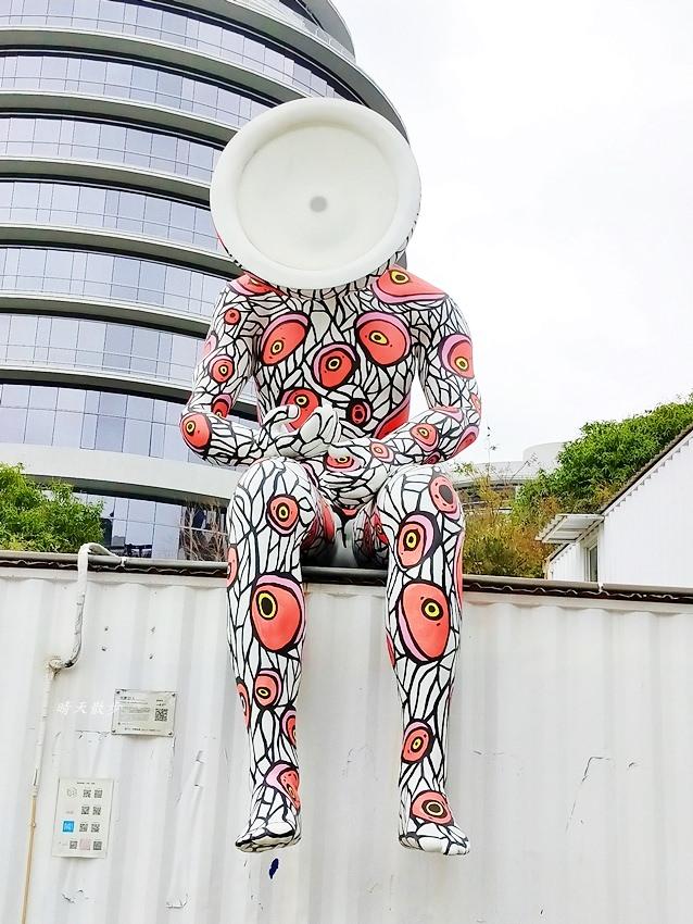 20200314003325 11 - 大里東湖公園│大里Dali Art 文創藝術廣場旁公園,大型裝置藝術作品,讓平凡公園變得超可愛!