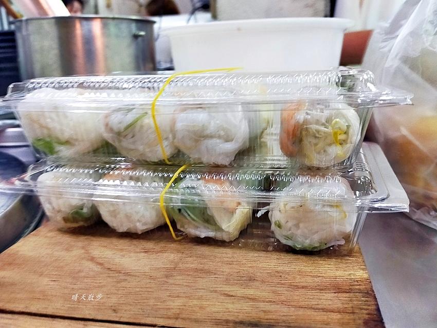 20200711161239 76 - 南屯市場美食|娟越南小吃~菜市場裡的越南銅板美食,牛肉湯、米線、春捲、河粉、法國麵包通通有!