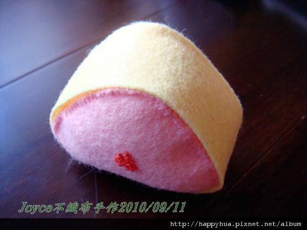 Joyce不織布手作_三角飯糰20100911 (5).JPG