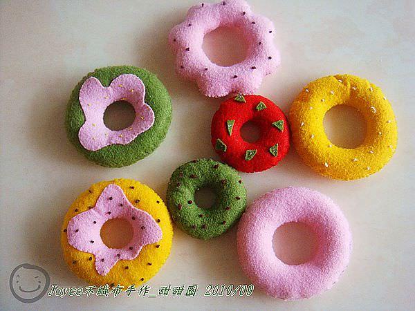 Joyce不織布手作_甜甜圈201009 (9).JPG