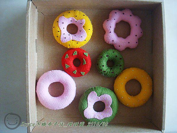 Joyce不織布手作_甜甜圈201009 (1).JPG