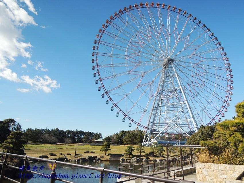 [日本]東京葛西臨海公園:鑽石與花大觀覽車~日本最大的摩天輪?漫畫《蜂蜜幸運草》真實場景,先搭摩天輪再去水族園比較划算喔(附割引券連結)
